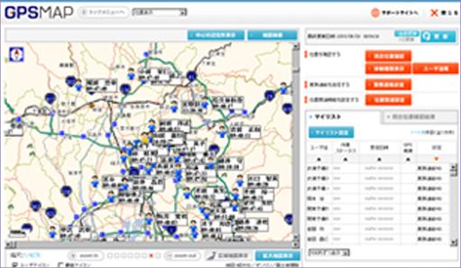 車両動態管理システム