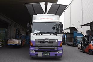スルー物流の混載トラック②