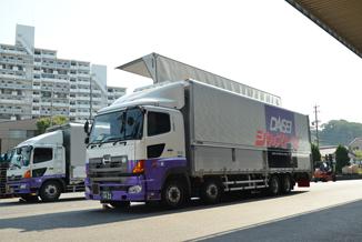 ダイセーのトラック①