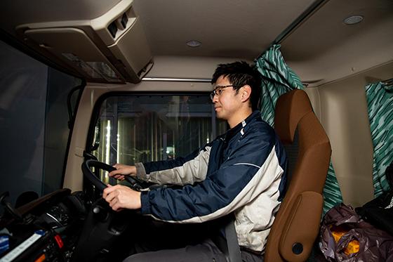 お客様の信頼を得られるのはドライバーならではの特権です。